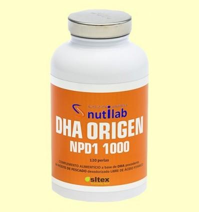 DHA Origen NPD1 1000 - Nutilab - 120 perles