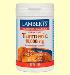 Cúrcuma 10.000 mg - Lamberts - 120 pastilles