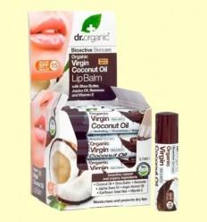 Bàlsam Labial d'Oli de Coco Bio - Dr.Organic - 5,7 ml