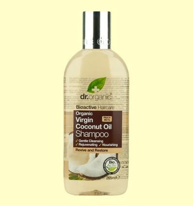 Xampú d'Oli de Coco Bio - Dr.Organic - 265 ml