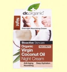 Crema de Nit d'Oli de Coco Bio - Dr.Organic - 50 ml
