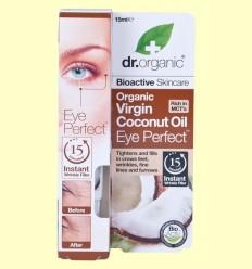 Contorn d'Ulls d'Oli de Coco Bio - Dr.Organic - 15 ml