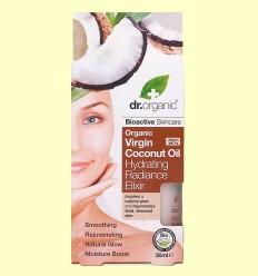 Elixir Hidratació d'Oli de Coco Bio - Dr.Organic - 30 ml