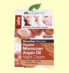 Crema de Nit Oli d'Argan Marroquí Bio - Dr.Organic - 50 ml
