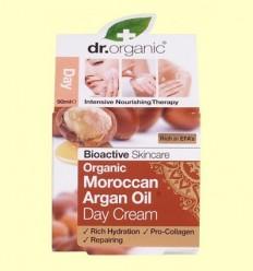 Crema de Dia Oli d'Argan Marroquí Bio - Dr.Organic - 50 ml