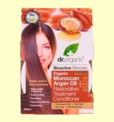 Tractament Condicionador Restaurador d'Oli d'Argan Marroquí - Dr.Organic - 200 ml
