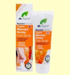 Exfoliant per Peus i Talons de Mel de Manuka Bio - Dr.Organic - 125 ml