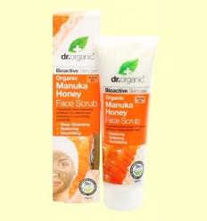 Exfoliant Facial de Mel de Manuka Bio - Dr.Organic - 125 ml