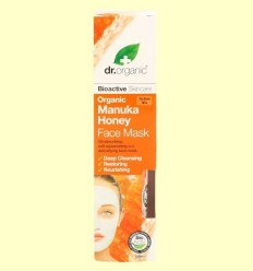 Mascareta Facial de Mel de Manuka Bio - Dr.Organic - 125 ml