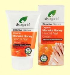 Crema per a Mans i Ungles de Mel de Manuka Bio - Dr.Organic - 125 ml