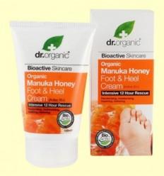 Crema per Peus i Talons de Mel de Manuka Bio - Dr.Organic - 125 ml