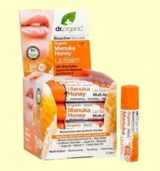 Bàlsam Labial de Mel de Manuka Bio - Dr.Organic - 5,7 ml