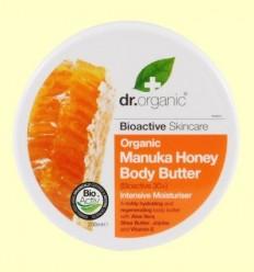 Crema Corporal de Mel de Manuka Bio - Dr.Organic - 200 ml