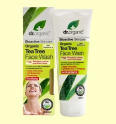 Gel Netejador Facial de Arbre del Te Bio - Dr.Organic - 200 ml
