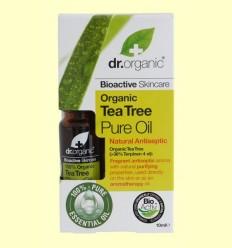 Oli Pur de Arbre del Te Bio - Dr.Organic - 10 ml
