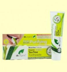 Pasta Dental de Arbre del Te Bio - Dr.Organic - 100 ml