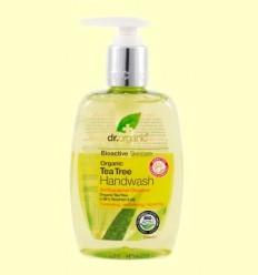 Sabó de Mans amb Arbre del Te Bio - Dr.Organic - 250 ml