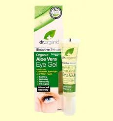 Gel Contorn d'Ulls d'Aloe Vera Bio - Dr.Organic - 15 ml