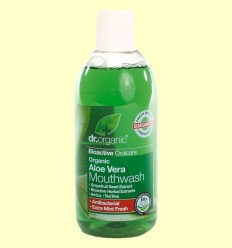 Esbandida Bucal d'Aloe Vera Bio - Dr.Organic - 500 ml