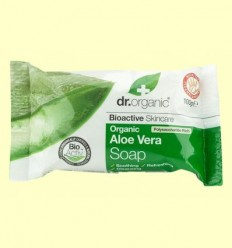 Pastilla de Sabó amb Aloe Vera Bio - Dr.Organic - 100 grams