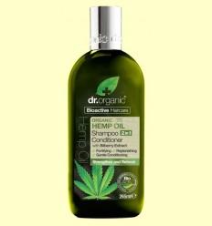 Xampú i Condicionador d'Oli de Cànem Bio - Dr.Organic - 265 ml