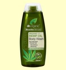 Gel de Dutxa d'Oli d'Cànem Bio - Dr.Organic - 250 ml