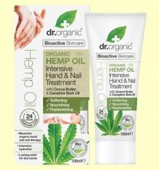 Tractament Intensiu Mans i Ungles d'Oli de Cànem Bio - Dr.Organic - 100 ml