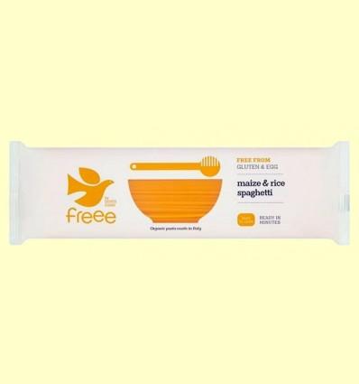 Espaguetis de Blat de moro i Arròs Bio - Doves Farm - 500 grams