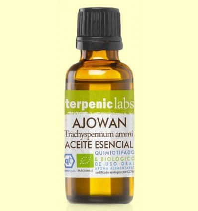 Ajowan - Oli Essencial Bio - Terpenic Labs -  30 ml
