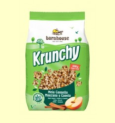 Krunchy amb Poma i Canyella Bio - Barnhouse - 600 grams