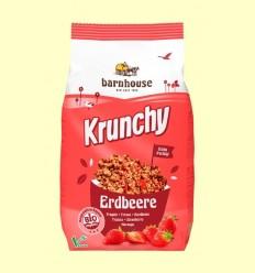 Krunchy amb Maduixes Bio - Barnhouse - 700 grams