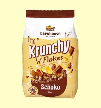 Krunchy amb Flocs i Xocolata Bio - Barnhouse - 375 grams