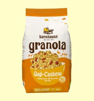 Granola amb Baies de Goji i Anacards Bio - Barnhouse - 375 grams