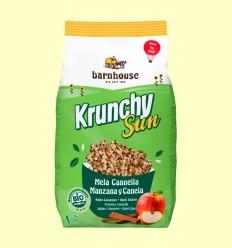 Krunchy Sun Poma i Canyella Bio - Barnhouse - 375 grams