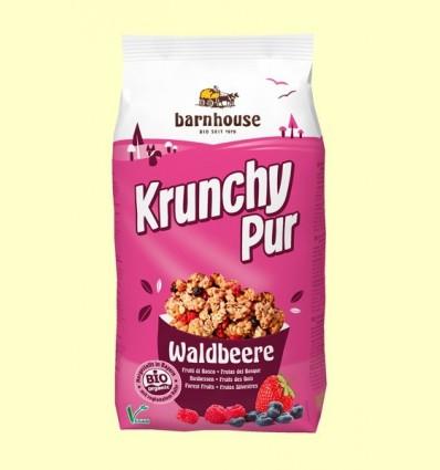 Krunchy de Fruits del Bosc amb Xarop d'Arròs Bio - Barnhouse - 750 grams