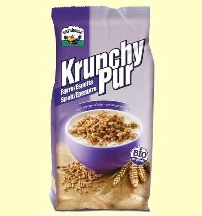 Krunchy d'Espelta endolcit amb Xarop d'Arròs Bio - Barnhouse - 375 grams *
