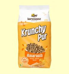 Krunchy d'Amaranto amb Xarop d'Arròs Bio - Barnhouse - 750 grams