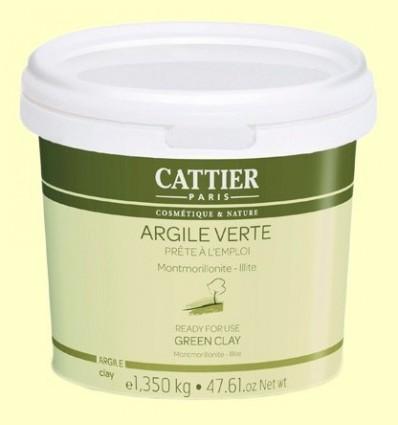 Argila Verda - A punt per utilitzar - Cattier - 1350 grams *