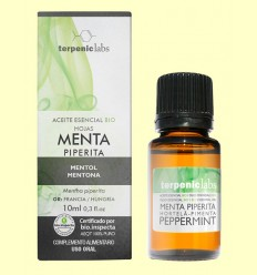 Menta Piperita - Oli Essencial Bio - Terpenic Labs - 10 ml