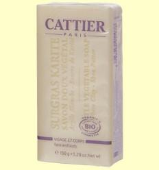 Sabó Karité Bio - Pell Mixta - Cattier - 150 grams *
