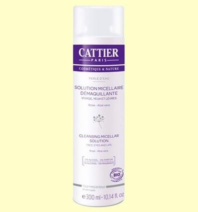 Solució Micelar desmaquilladora Bio - Cattier - 300 ml