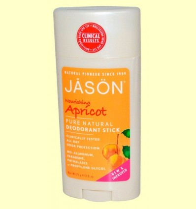 Desodorant Estic Albercoc - Jason - 71 grams