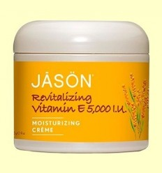 Crema Revitalitzant Vitamina E 5000 UI - Jason - 113 grams
