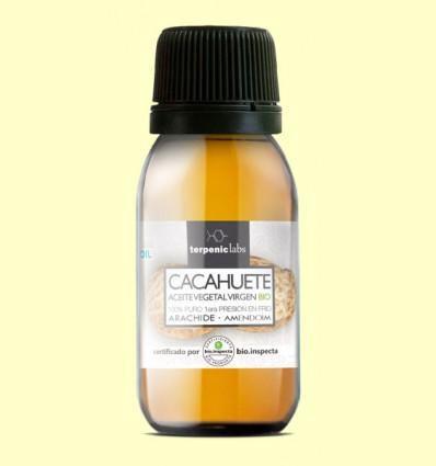 Oli Vegetal de Cacauet Verge - Terpenic Labs - 60 ml
