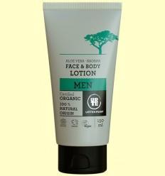 Loció Corporal i Facial Aloe Vera per a Homes Bio - Urtekram - 150 ml