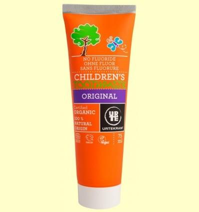 Pasta de Dents Infantil Bio - Urtekram - 75 ml