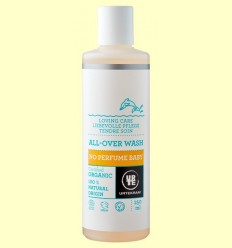 Xampú per a Nadons Sense Perfum 2 en 1 Bio - Urtekram - 250 ml