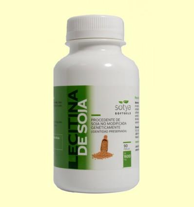 Lecitina de Soja 1600 mg - Sotya - 90 perles