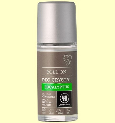 Desodorant Roll On d'Eucaliptus Bio - Urtekram - 50 ml