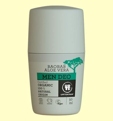 Desodorant Homes Aloe Vera i Baobab Bio - Urtekram - 50 ml